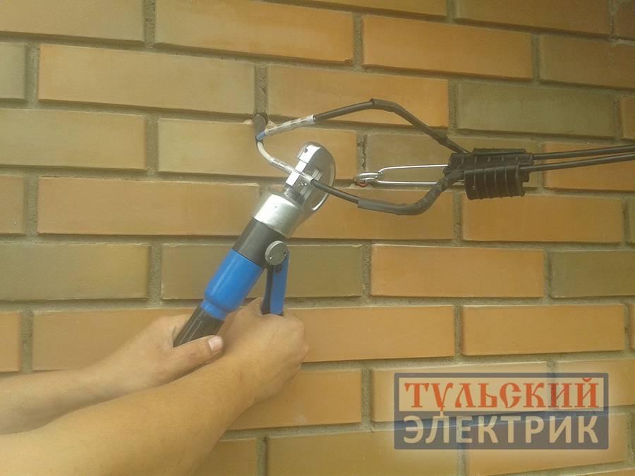Электричества к частному дому своими руками